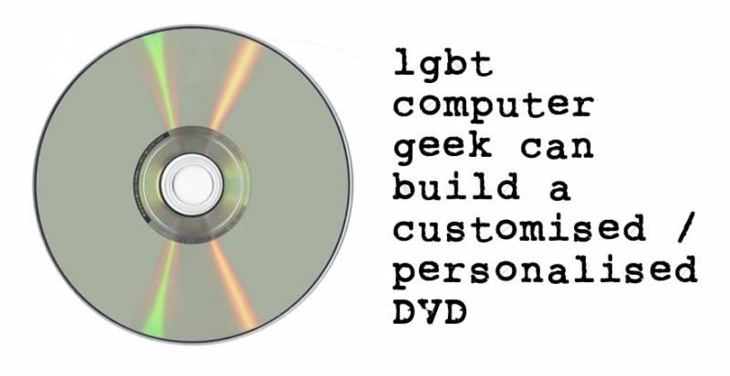 Customised DVD
